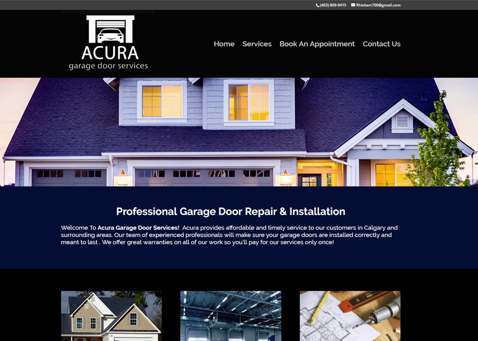 Acura Garage Door Services