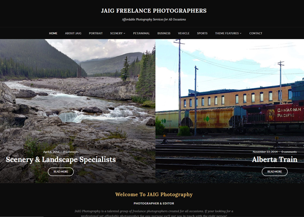 JAIG Freelance Photgraphers