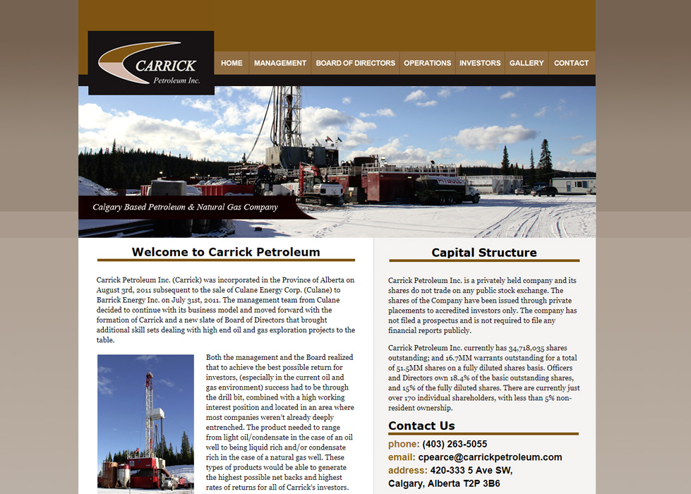Carrick Petroleum