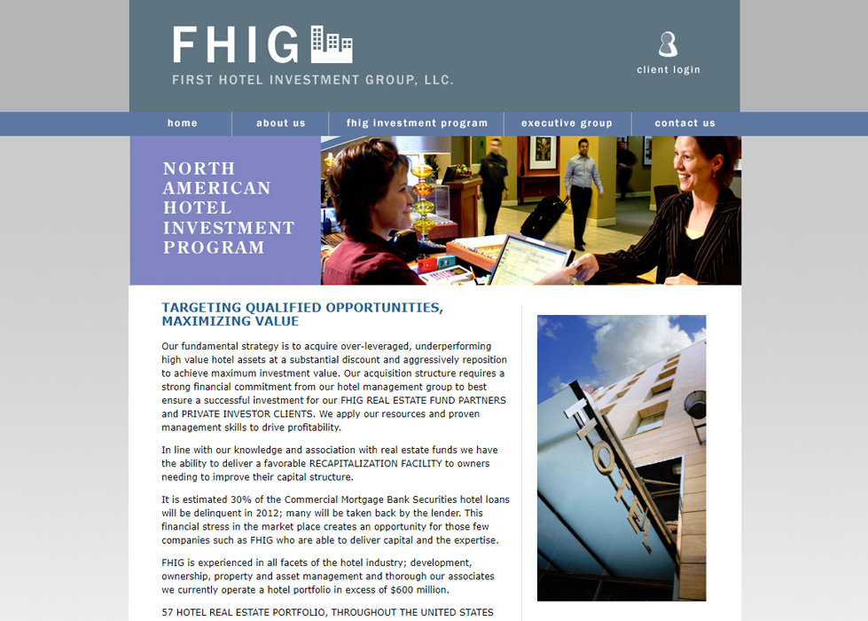 First Hotel Investment Group