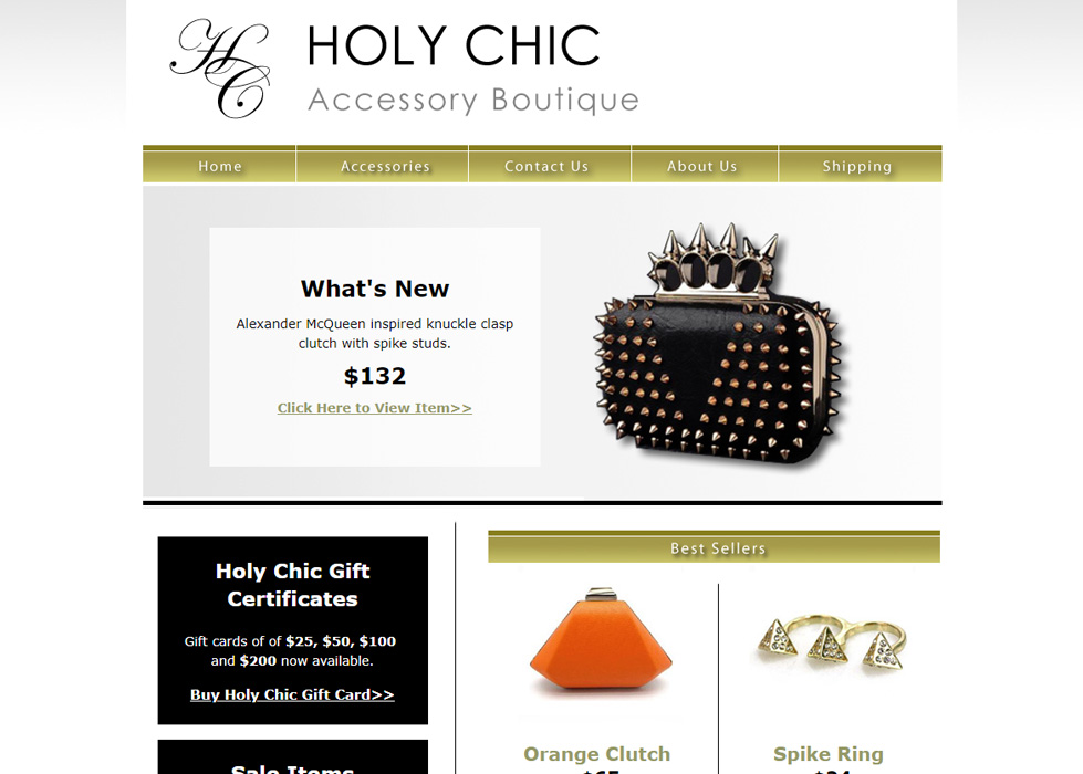 Holy Chic Accessory Boutique