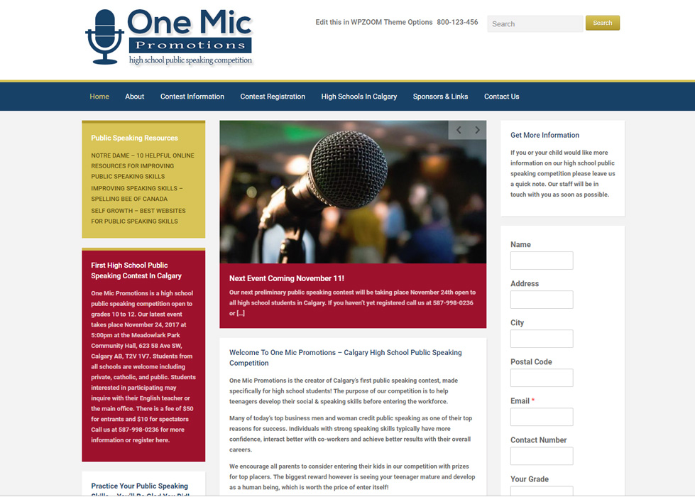 One Mic Promotions