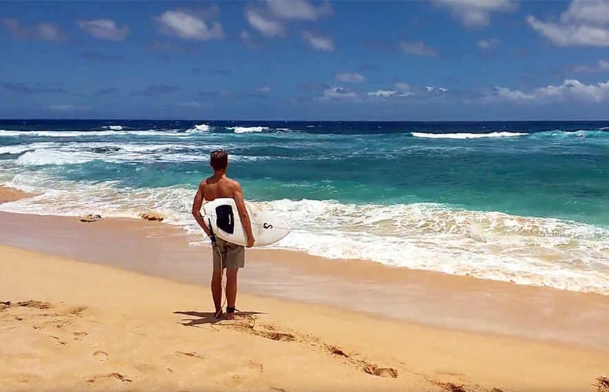 Hawaiin Surf Competition