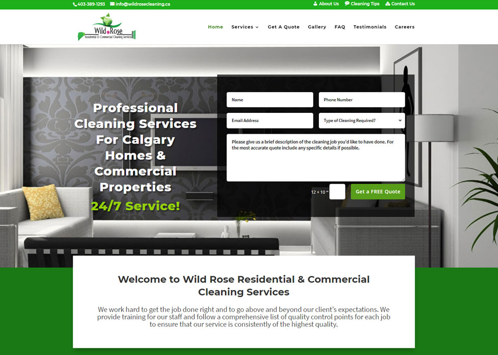 Wild Rose Cleaning